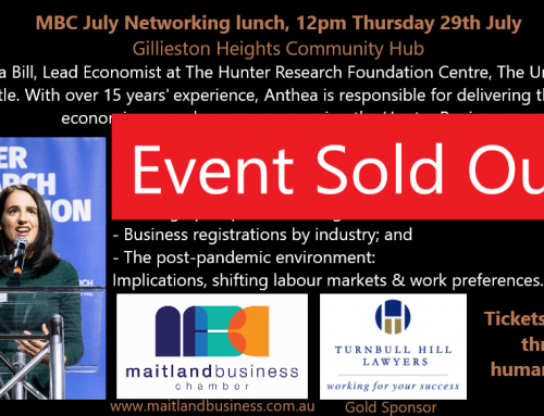 July event – Sold Out!